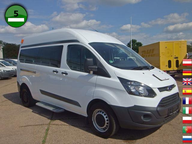 купить микроавтобус Ford Transit Custom 330 L2h2 Klima Rohlstuhltransport 2014 года продажа Id 4788149