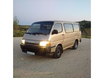 TOYOTA Hiace H15 left hand drive 2.4 diesel 2L engine 9 seats - микроавтобус