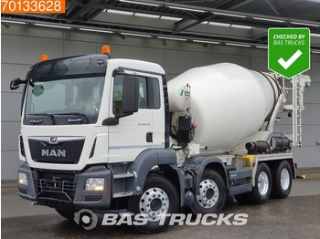 MAN TGS 32.420 8X4 SteelSuspension 9m3 Euro 6 - бетономешалка