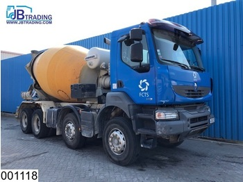 Бетономешалка Renault Kerax 370 Dxi 8x4, Liebherr, Steel suspension, Manual, Hub reduction, euro 4